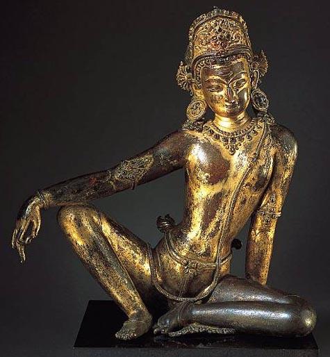 indra-gilt-bronze-13c-nepal